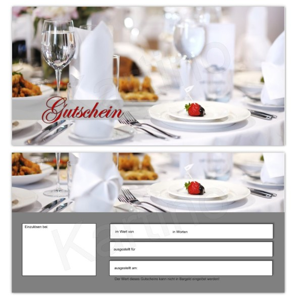 25 Gutscheinkarten - Geschenkgutscheine - Gastronomie 0004